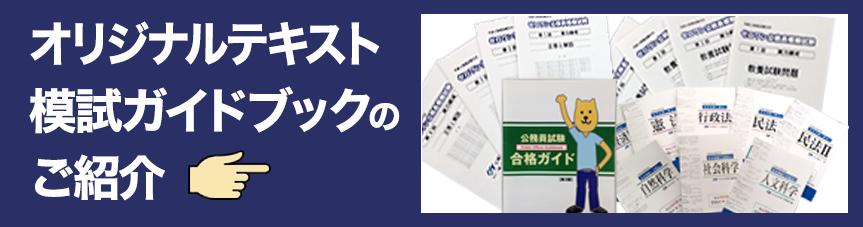 オリジナルテキスト・模試・ガイドブックのご紹介