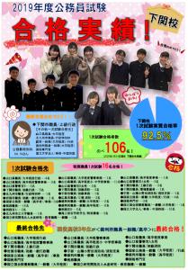 2019(下関校)合格者実績
